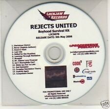 (J346) Rejects United, Boyhood Survival Kit - DJ CD