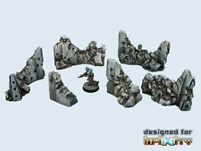"""Micro Art Studio: Concrete Wall """"Destroyed"""" Set (Made for Infinity) T00064"""