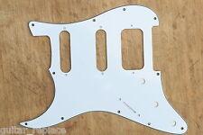 Golpeador Stratocaster Lonestar Blanco Zurdo HSS Lefty Humbucker Pickguard