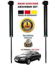 VW PASSAT 1996-2005 1.6 1.8 1.9 2.3 2.5 2.8 REAR LEFT & RIGHT SHOCK ABSORBER SET