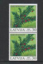 Lettland - 2003, 30s Pflanzen Broschüre Im Bereich - V /L /M - Sg 596