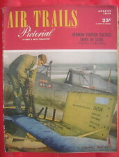 August, 1944 AIR TRAILS Pictorial - A Street & Smith Publication - Wartime