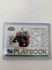 Edgerrin James 2008 Gridiron Gear Jersey Card #PL-25 Serial #186/250