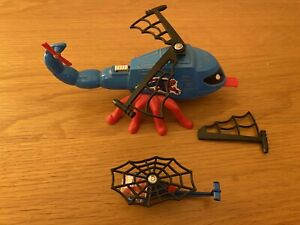 Vintage Corgi Spiderman 928 - Spidercopter.