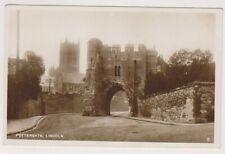 Lincolnshire postcard - Pottergate, Lincoln - (A290)