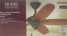 Home Altura 48 in. Indoor/Outdoor Oil-Rubbed Bronze Ceiling Fan