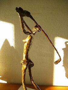 Bronze Statue Figur Skulptur Golfspielerin Golfer Tiger N. Chan lim. Art & Golf