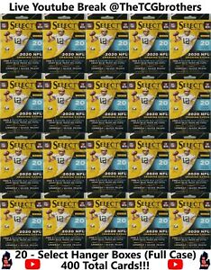 Miami Dolphins Break 654 20x Select Hanger Box 2020 Football Team