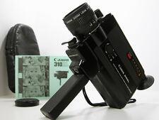 CANON Super 8 MOVIE CAMERA W/Case & Inst Great Working Film Student Camera