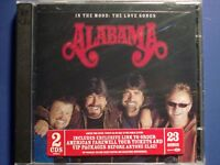 In the Mood:The Love Songs by Alabama(CD,2003,2 Discs,RCA)* BRAND NEW SEALED *