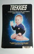 TREKKIES BABY HAND STAR TREK COVER ART MINI POSTER BACKER CARD (NOT a movie)