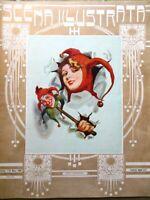 Scena Illustrata 1 Marzo 1930 Barletta Solera Chopin Rubinstein Manzoni Acquate