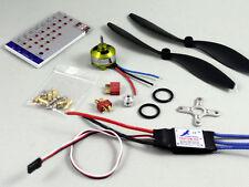 Hobbymate 2806 Motor 30A ESC Program Card Props Plugs For Rc Airplane ParkFlyer