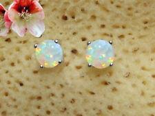 Ohrstecker Ohrringe Opal Triplette Damen Kinder echt 925 Sterling Silber BC35