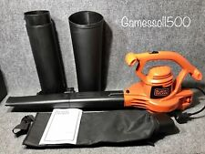 BLACK+DECKER™ 11amp Compact 3-in-1 Corded Blower/Vacuum/Mulcher, BV2900