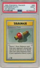 Pokemon Flute - 86/102 - PSA Mint 9 - Uncommon (Base Set Pokemon Card 3Q6