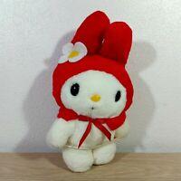 """Rare Sanrio Vintage My Melody 1998 Eikoh Japan Plush Doll Toy 9"""""""