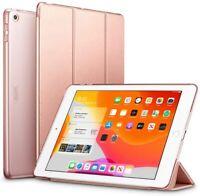 ESR Coque pour iPad 10.2 (Or Rose), Smart Cover Housse Étui de Protection Rigide