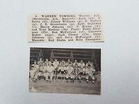 Warren Townies Arkansas Monticello 1951 Baseball Team Picture RARE!