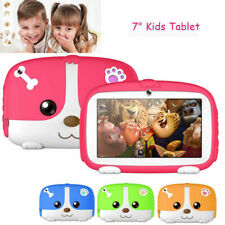 "Cute 7"" Kids Tablet PAD 8GB WiFi Dual Camera Educational PC for Boys Girls Child"