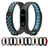 Durable Replacement TPU Anti-off Wristband Sports Bracelet for Xiaomi Mi Band 2