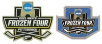2021 MEN'S FROZEN FOUR EMBROIDERED PATCH & LAPEL PIN NCAA COLLEGE ICE HOCKEY