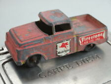 Vintage 1957 Tootsietoy Ford Styleside Pickup Truck Mobil Gasoline