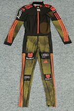 adidas FULL BODY Biathlon Cross Country skiing XC Ski Race Suit D3 Small Audi
