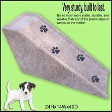 "Dog Ramp 24"" tall x 14"" wide x 40"" Deep Dog Ramp. Sturdy Ramp. Very sturdy."