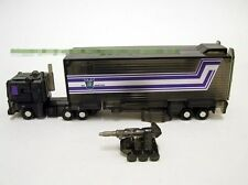 Smallest WST G1 Optimus Prime w Trailer clear black