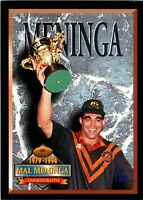 ✺New✺ 1994 CANBERRA RAIDERS NRL Premiers Card MAL MENINGA Commemorative