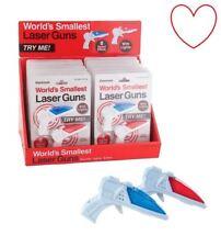 The Worlds Smallest Lazer Laser Guns Mini Toys FX