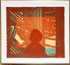 Howard Hodgkin, Artist and Model, Soft-ground etching in sepia with hand-colorin