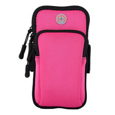 Outdoor Sport Running Jogging Arm Band Bag Pouch Case W/Strap For iPhone Samsung