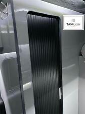 Tambour Sliding Door Kit Made To Measure Upto 200cm Tall Wardrobe Kitchen Shower