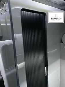 Tambour Sliding Door Kit Made To Measure Upto 200cm Tall Wardrobe Kitchen Shower