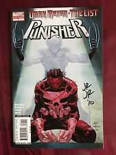 Punisher The List 1 Signed John Romita JR 11-19 1st FrankenCastle VS Daken