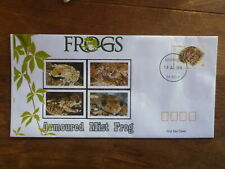 2018 FROGS ARMOURED MIST FROG ILLUSTRATED FDC FIRST DAY COVER