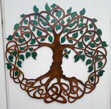 "Tree of Life, Celtic Design, Metal Art, 23.5"", Wall Decor"