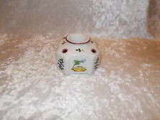 Vintage Perugia Italy Pottery Inkwell