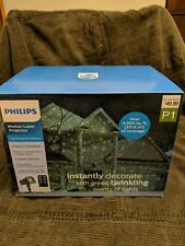 Philips Motion Laser Projector Green Twinkling Dot Lights