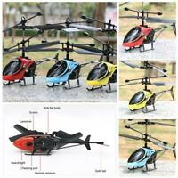 Mini Remote Control Infraed Drone Induction Helicopter Flashing Flying Kids Toy