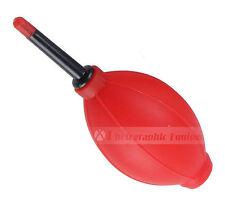 Soplador de aire Rojo Bombilla Polvo Limpiador De Filtro De Lente De Cámara Vendedor de Reino Unido