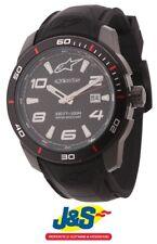 Alpinestars Tech Reloj 3H Negro Silicio Correa Negro Motocicleta Moto J&s