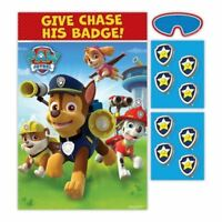 Paw Patrol Boys Birthday Party Game Decoration