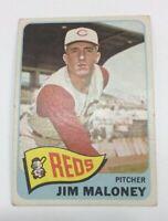 1965 Topps # 530 Jim Maloney Baseball Card Cincinnati Reds