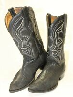 Stingray Genuine Skin Men Leather Boots Western Los Altos Country Size 8.5