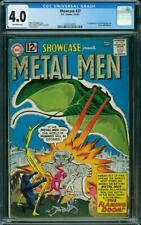 Showcase #37 CGC 4.0 DC 1962 1st Metal Men! Key Silver Age! L9 207 cm