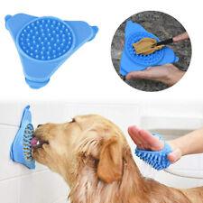 Wall Mounted Dog Training Lick Silicone Bowl Pet Bathing Distract Dispensing Mat