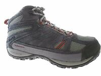 COLUMBIA ACCESS POINT MID MEN'S CHARCOAL WATERPROOF HIKING BOOTS #YI5296-030